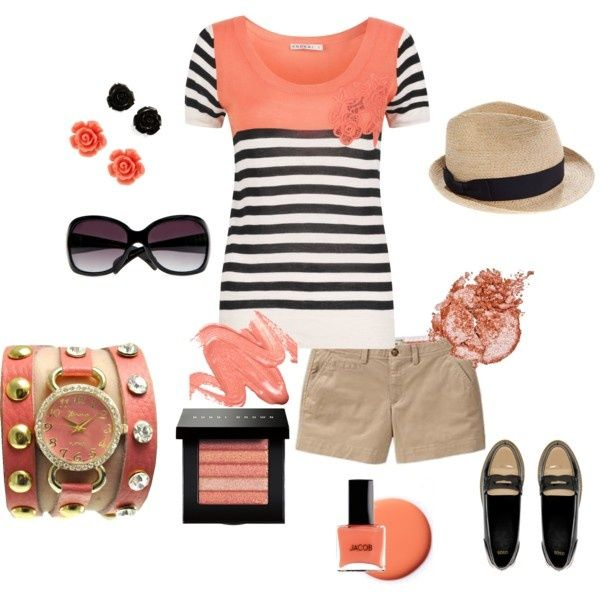 Spring Sweater, created by shayck on PolyvoreColors Combos, Summer Fashion, Summer Outfit, Fashion Design, Summertime Outfit, Summer Baby, Spring Sweaters, Summer Fun, Polyvore Outfit