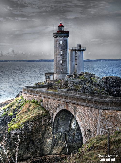 Phare du Petit Minou (Bretagne) Photo HDR