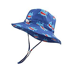 BAVST Baby Boys Sun Hat Girls Floppy Bucket Hat Summer Toddler Outdoor Cap for Swim Beach