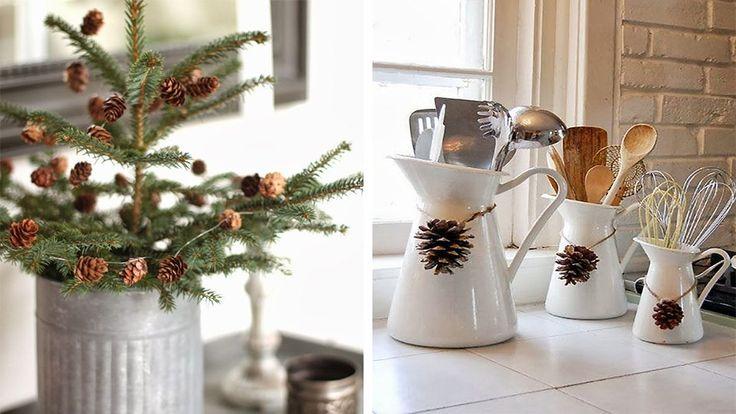 accesorios decoracion cocina navidad