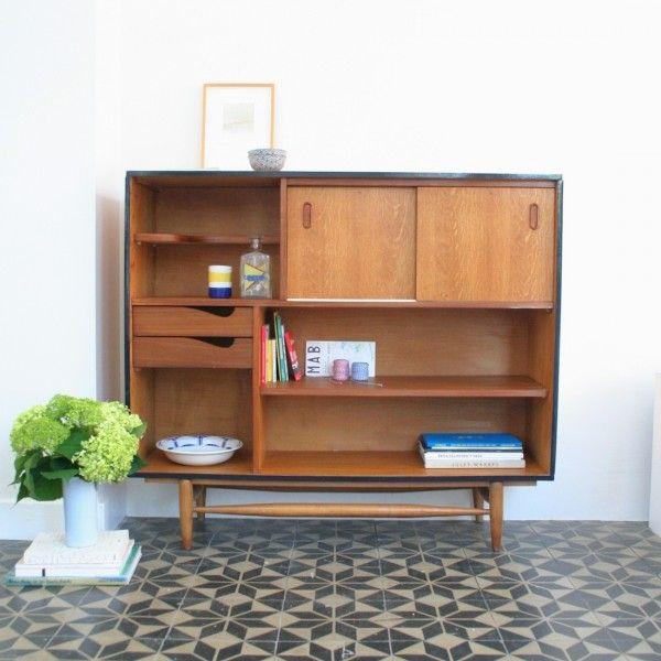 buffet scandinave ch ne 2 meuble vintage vintage furniture pinterest buffet. Black Bedroom Furniture Sets. Home Design Ideas