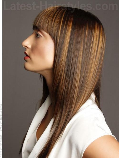 27 Best Images About High Impact Hair Colour Ideas On Pinterest Blunt Bangs Hair Color And