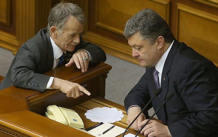 Неужели кто-то еще в Киеве верит, что крымчане бросят будущее своих детей к ногам колониальной администрации?