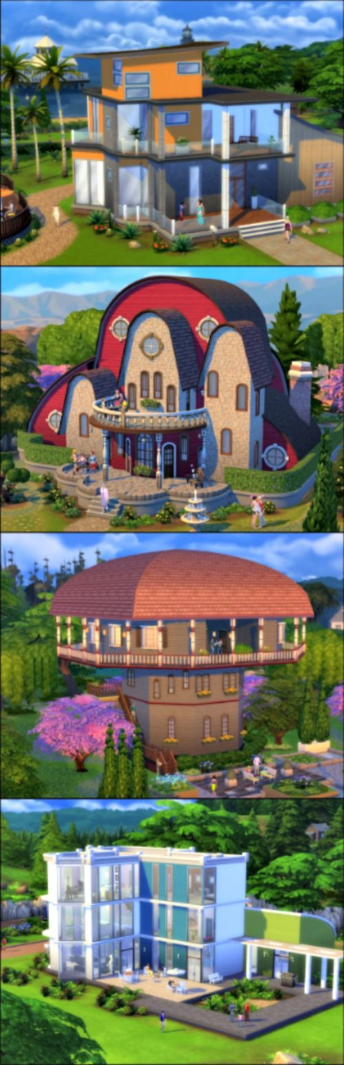 "14 Ultra-Pimped-Out ""Sims"" Houses You Wish You Could Actually Own 