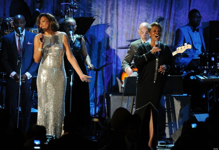 Whitney Houston and Dionne Warwick, 2011