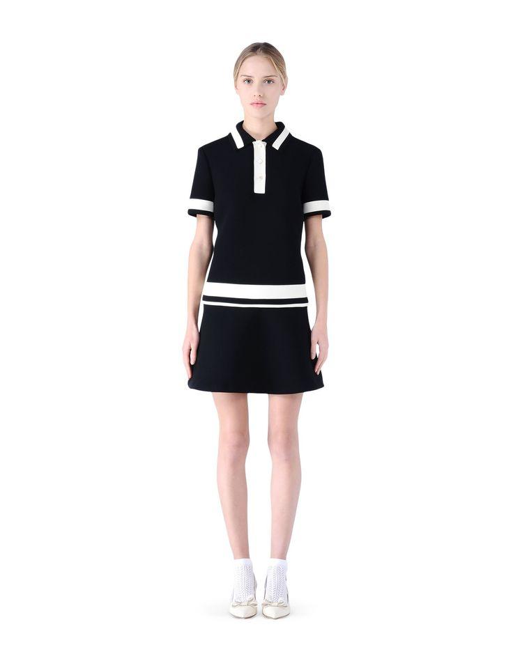 RED Valentino Tech Fabric Polo Dress - Dress Women | RED Valentino E-Store