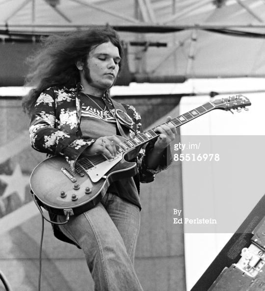"""Gary Rossington's """"Bernice"""" 1959 Gibson Les Paul"""