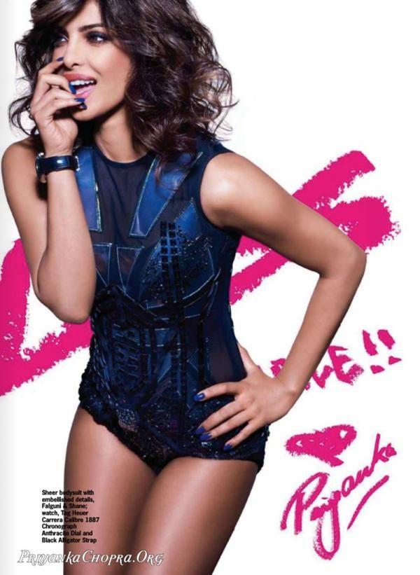 Priyanka Chopra on the cover of Cosmopolitan |