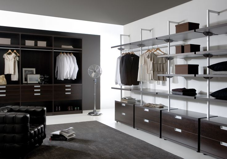 Noteborn wardrobe. Op maat kasten. Modern Design. Walk in Closet