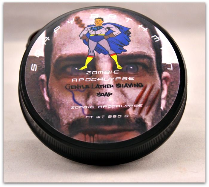 Zombie Apocalypse Shave Soap