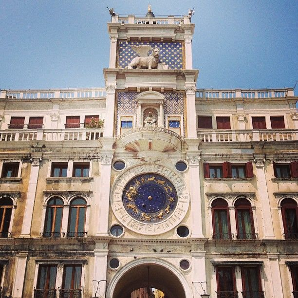 Torre dell'Orologio / Clock Tower in Venezia, Veneto