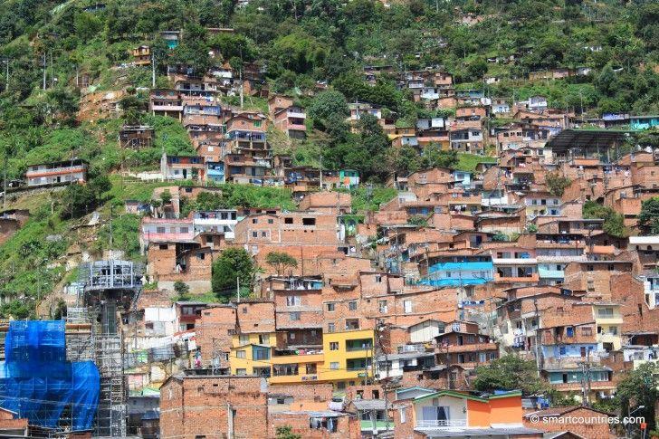 Santo Domingo Savio, Medellin, Colombia.
