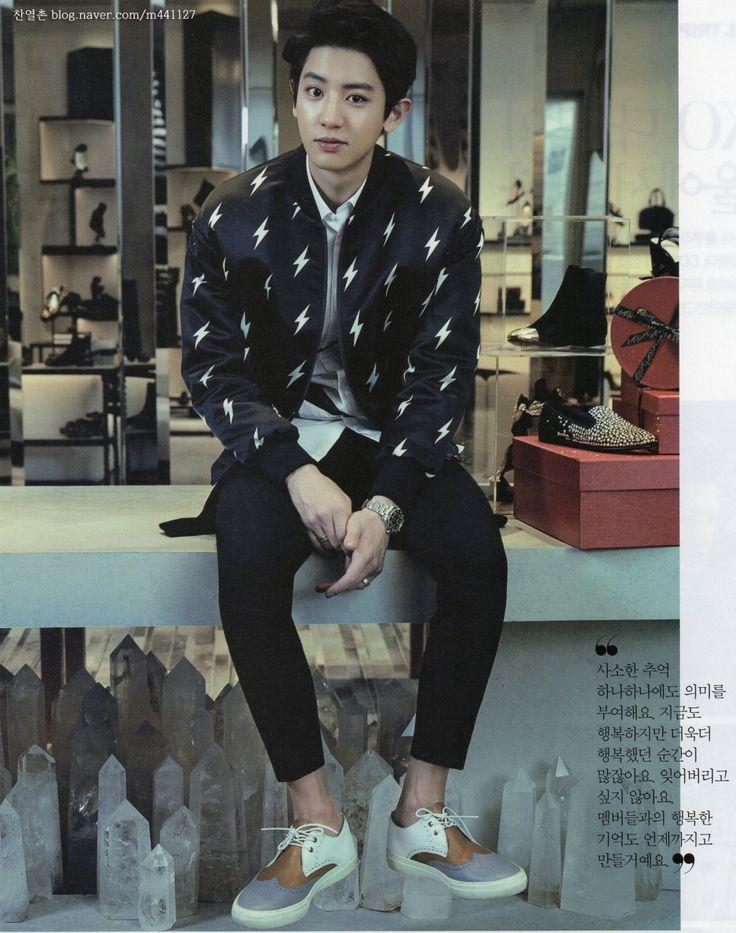 #Chanyeol #EXO The Celebrity Magazine