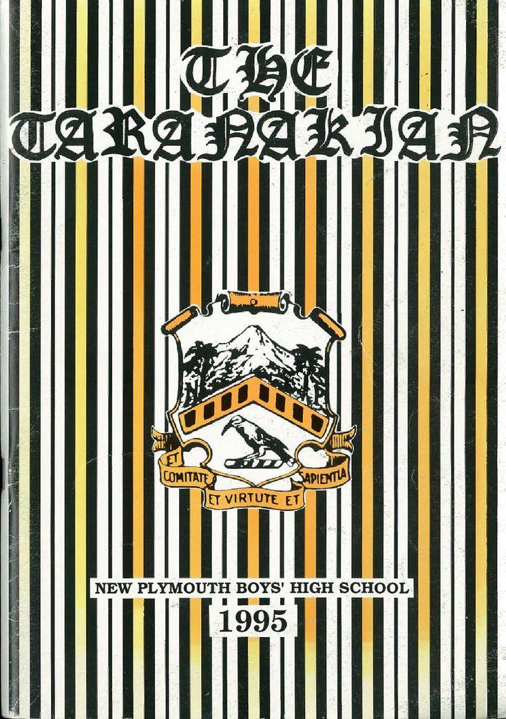 1995 The Taranakian Vol. 84