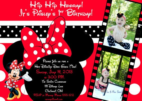 50 best Minnie Mouse images on Pinterest Anniversary ideas
