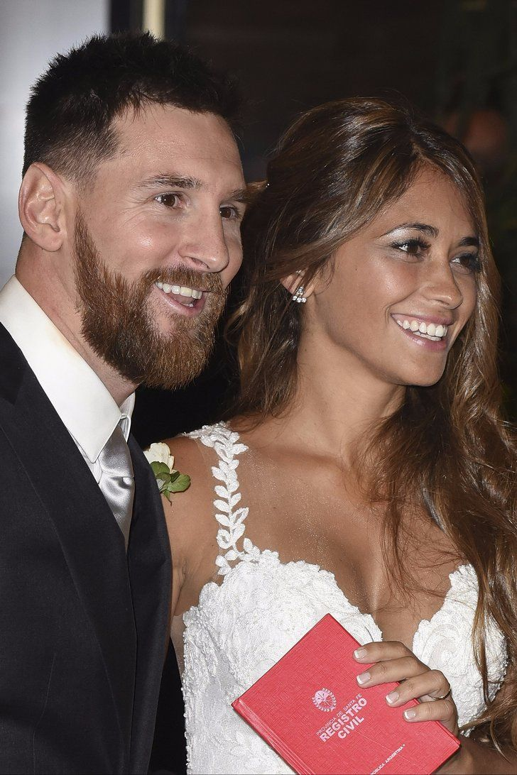 Lionel Messi and His Wife Celebrated Their Wedding Day With Matching Tiny Tattoos