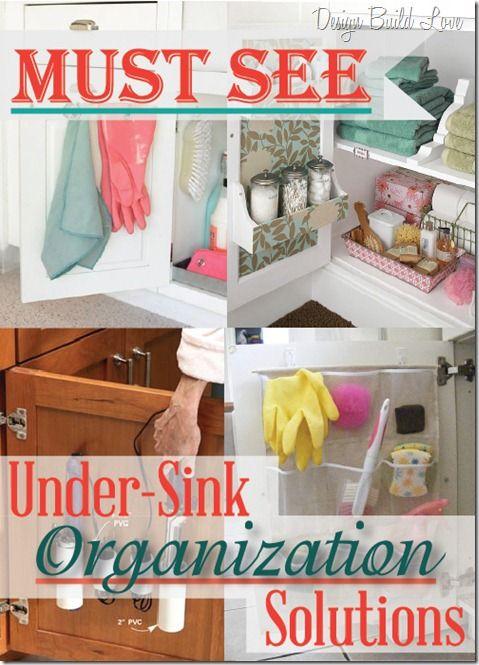 Under-Sink Organization Solutions