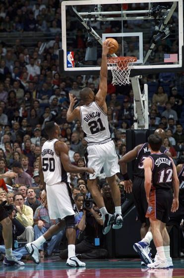 Best of Tim Duncan | THE OFFICIAL SITE OF THE SAN ANTONIO SPURS
