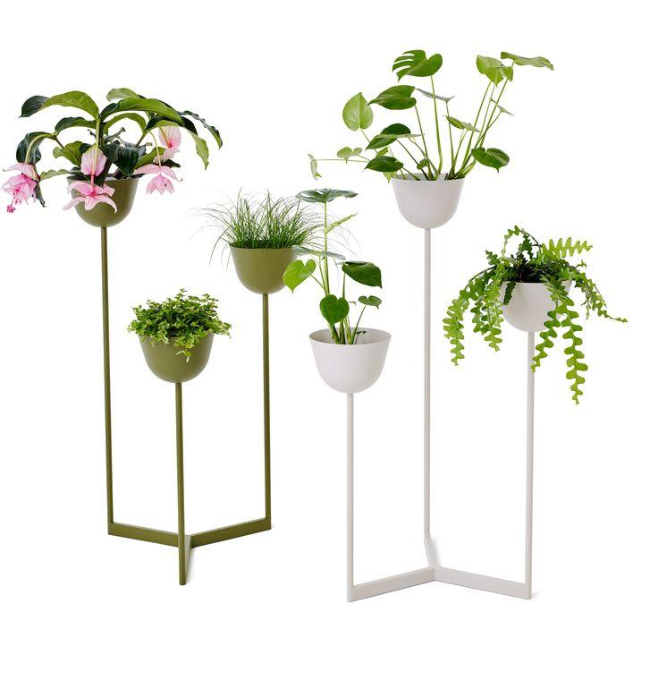 Pots planter, desgin Broberg & Ridderstråle for Nola. #noladesign #brobergridderstråle #planter #planteringskärl