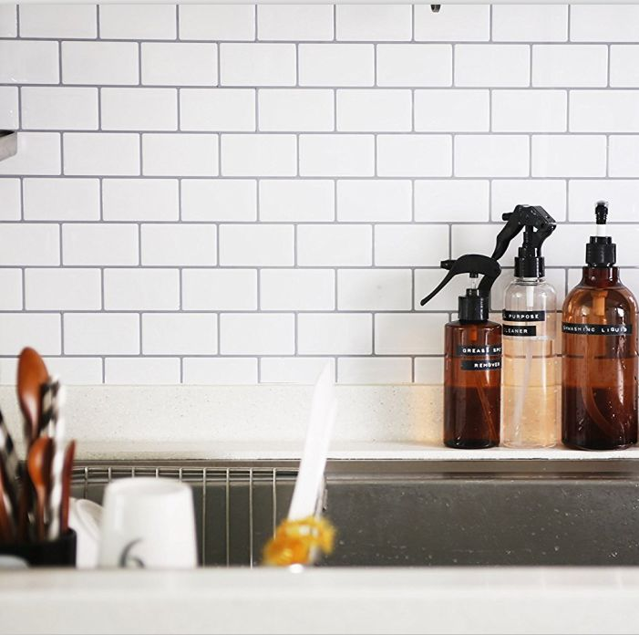 peel stick kitchen backsplash tile