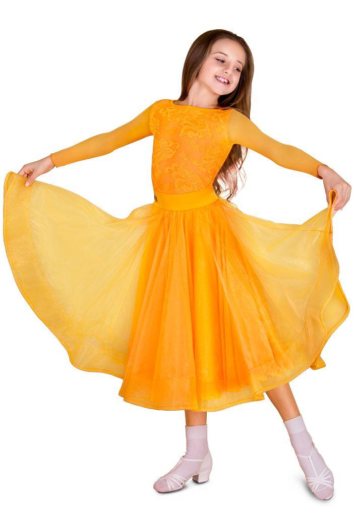 DSI Zeta Juvenile Skirt 1083 | Dancesport Fashion @ DanceShopper.com