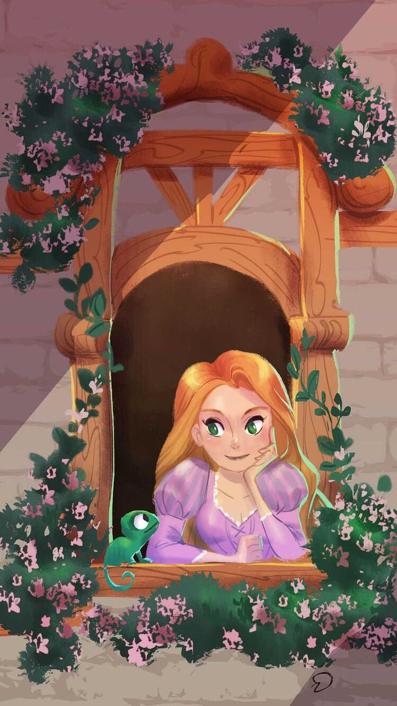 Wallpaper iphone rapunzel - Rapunzel Tangled Disney