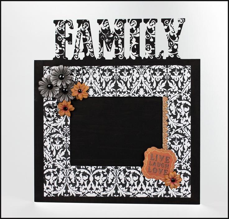 Family frame - Scrapbook.com