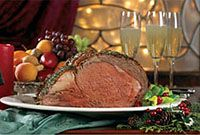 How to cook a PRIME RIB ROAST (includes tips, how much time per lb, etc.  Even has a Yorkshire pudding recipe!