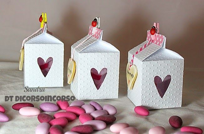 Sizzix Milk Carton Die Project Idea. Just got this die at Michaels this afternoon, I can't wait to make some cute milk carton!!