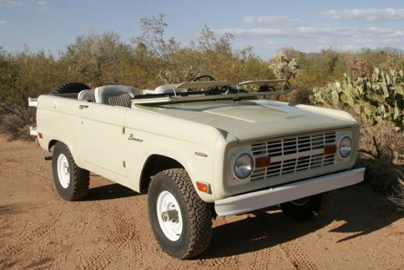 1969 Ford Bronco Survivor
