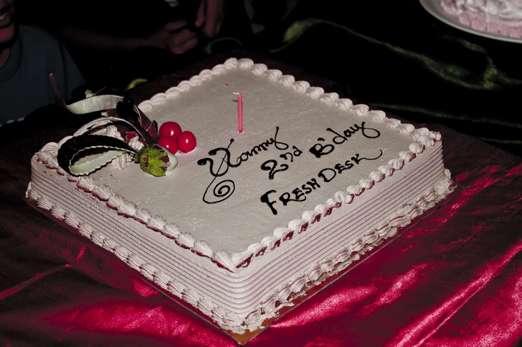 Party time! Freshdesk turns 2! :D