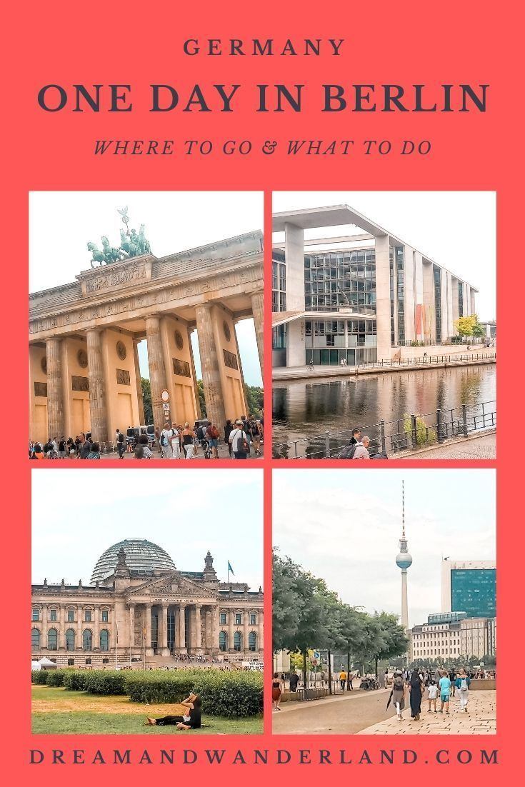 How To Spend A Perfect Day In Berlin Germany In 2020 Europe Travel City Trips Europe Europe Travel Tips