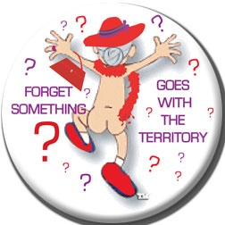 Red Hat Button 427 - Forget Something?
