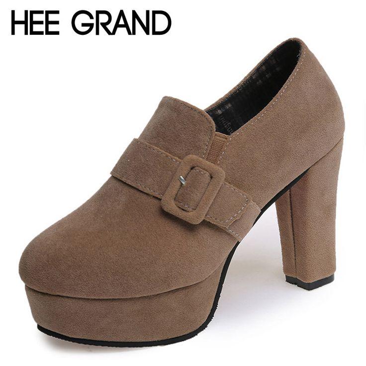 $33.30 (Buy here: https://alitems.com/g/1e8d114494ebda23ff8b16525dc3e8/?i=5&ulp=https%3A%2F%2Fwww.aliexpress.com%2Fitem%2FHEE-GRAND-High-Heels-2016-Platform-Shoes-Woman-Sexy-Suede-Pumps-Gladiator-Slip-On-Wedding-Shoes%2F32717028149.html ) HEE GRAND High Heels 2016 Platform Shoes Woman Sexy Suede Pumps Gladiator Slip On Wedding Shoes Buckle Casual Women Shoes WXG234 for just $33.30