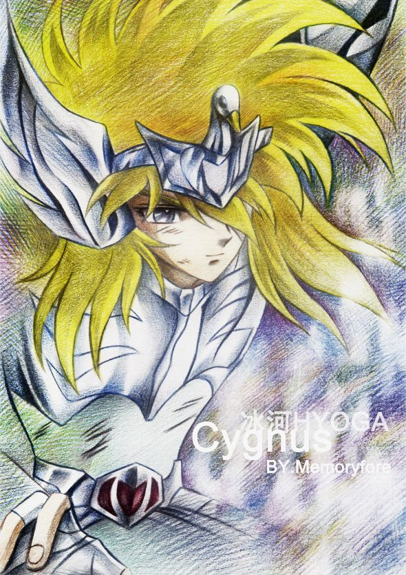Cygnus Hyoga SAINT SEIYA by memoryfore.deviantart.com
