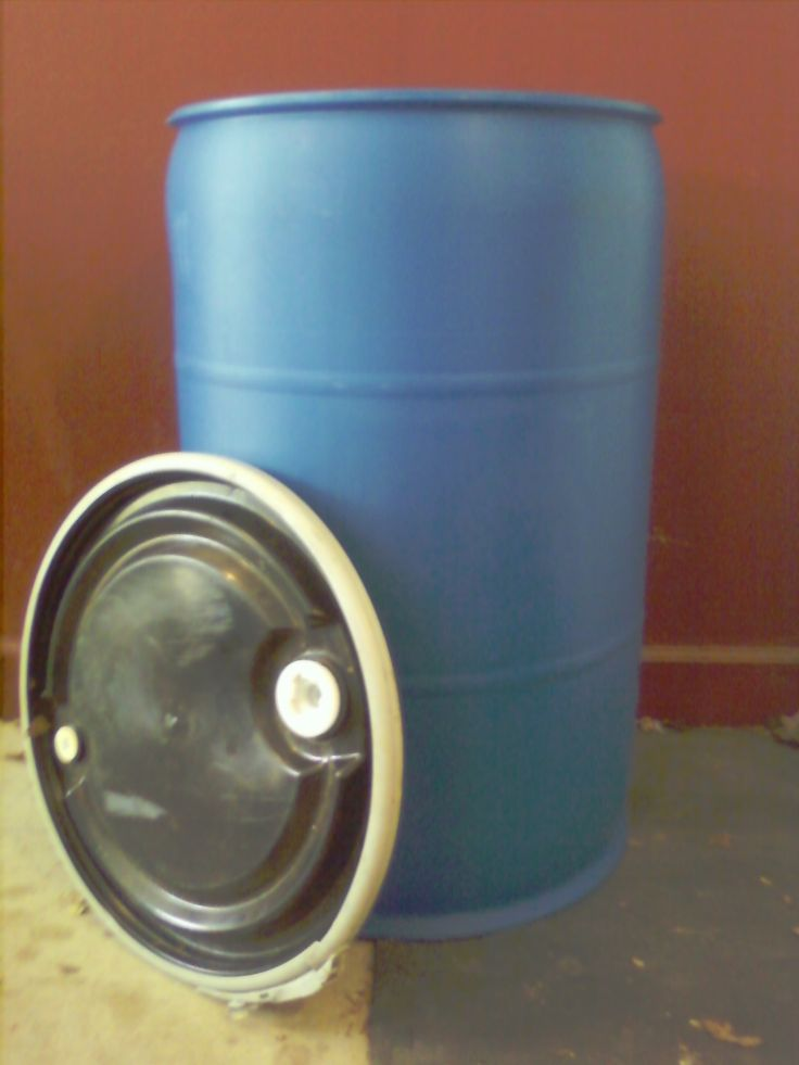 It's cheaper to ship personal effects overseas in  open-top plastic drums #barrels than in boxes