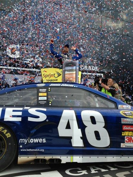 Jimmie Johnson earned his second Daytona 500 victory during his 400th career start in the NASCAR Sprint Cup.