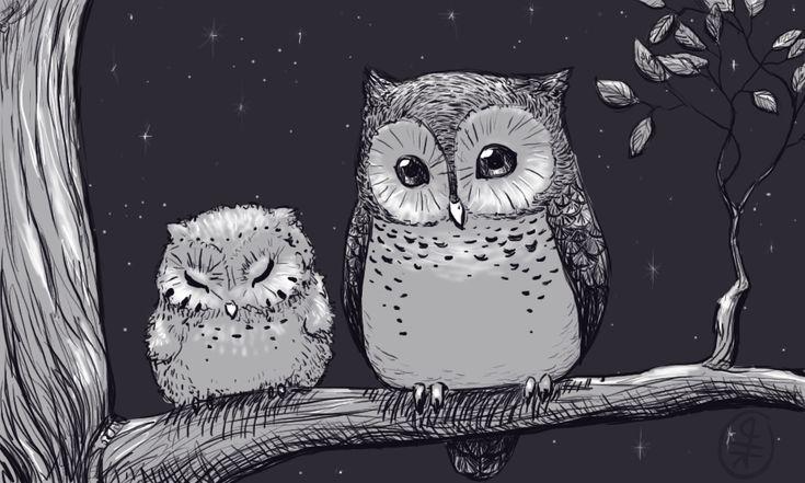 'Owls' by hirokiro  http://johnpirilloauthor.blogspot.com/