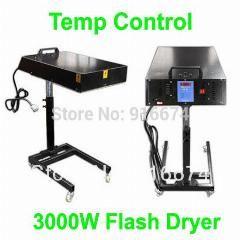 [ $33 OFF ] Fast  3000W Intelligent Temp Control Flash Dryer Silk Screen Printing Equipment Machine Cure Ink T-Shirt Printer