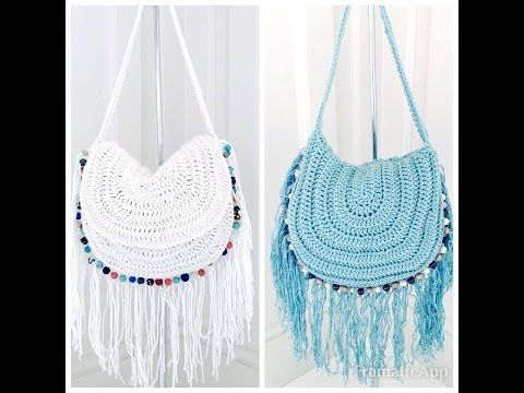 How To Make Crochet Bags Step By Step : ... Hippie Style Crochet Bag - Page 2 of 2 - Knit And Crochet Daily