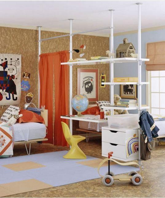 Ikea Stolmen Closet as System Room Divider