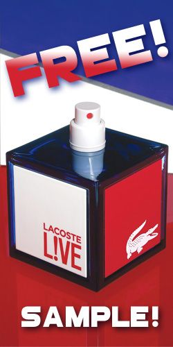 Get a Sample of Lacoste L!VE