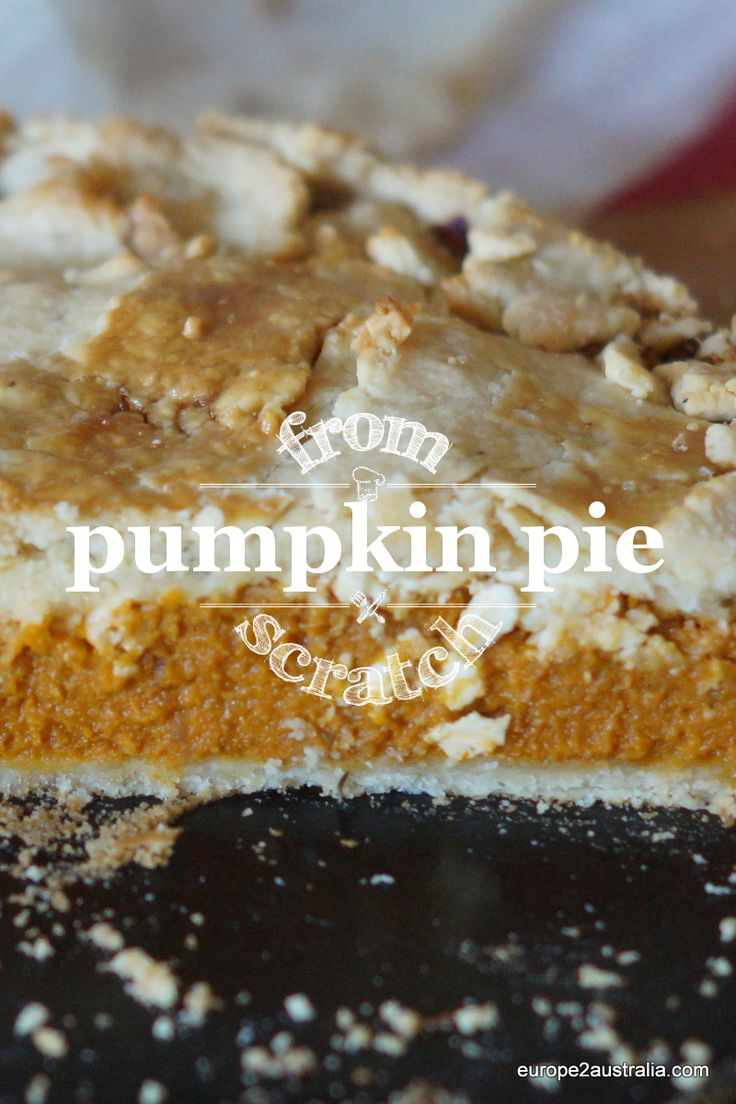 Pumpkin is one of my favorite foods. It has not always been, my love for pumpkin comes from my exchange year in America. My host family, John, July and Julianne, were so generous to let me be part of their family for a year, over 25 years ago.  Visit our blog to see how to make pumpkin pie from scratch.