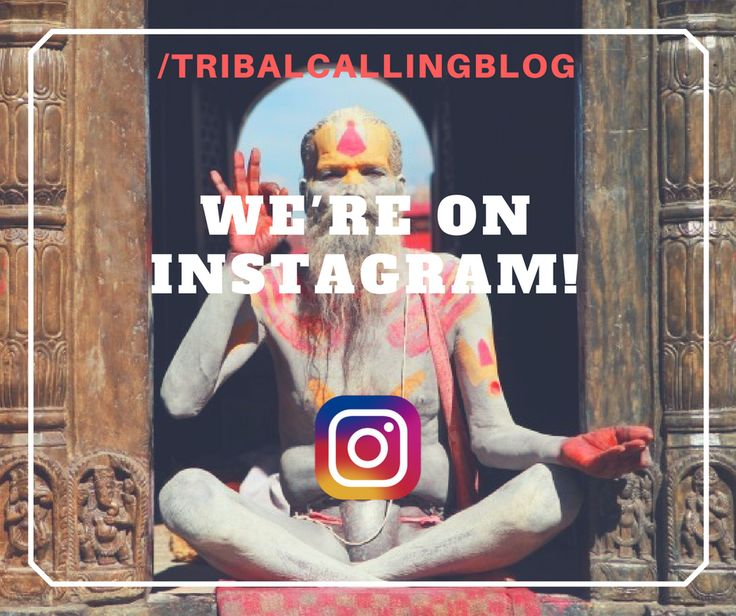 There's more of us to love :) follow us on instagram as we take you on a journey around the world! /tribalcallingblog