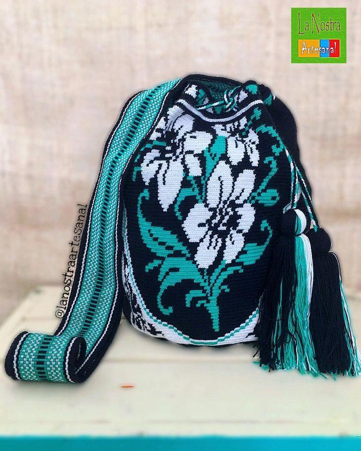28 отметок «Нравится», 4 комментариев — La Nostra Artesanal (@lanostraartesanal) в Instagram: «Wayuu Bags 1Hebra  - Handmade - Original Wayuu @lanostraartesanal »