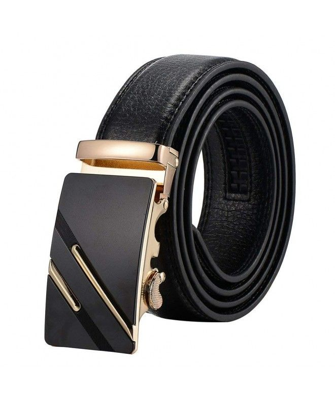 Mens Reversible Genuine Leather Jeans Designer Belts For Men Sliver//Golden Buckle