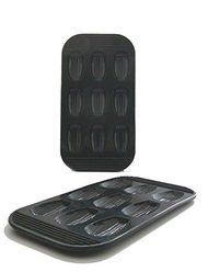 **SPECIAL OFFER** WellBake Madeleine Baking Pan - 9 Count - 2 PACK - Heavy Duty Nonstick Silicone Bakeware + 10... $44.95