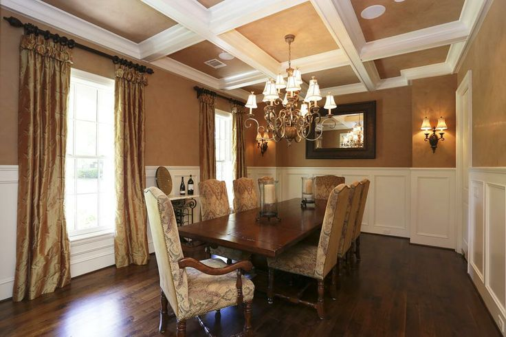 The Wonderful Dining Room Boasts Walnut Floors 53