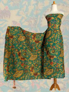 batk Motif  Kipas variasi material : katun primisima Size : 1.15 x 2.25 M