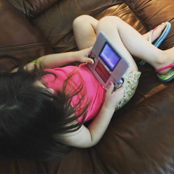 My daughter found my old DS in storage and wanted to play it. So far she likes the GBA games Sonic Advance 2 Kirby: Nightmare in Dreamland and Pokémon FireRed. She's 4 which is the age I was when I got my first NES in 1992.